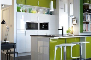 Aprovechar el espacio en una cocina pequeña