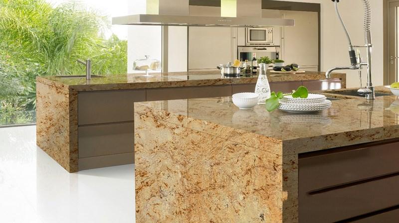 Escoge la mejor encimera para tu cocina la casa tecno for Mejor material para encimeras de cocina