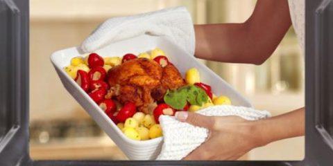recipientes para horno y microondas