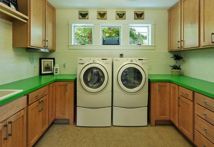La lavadora de carga frontal es recomendable para lugares espaciosos