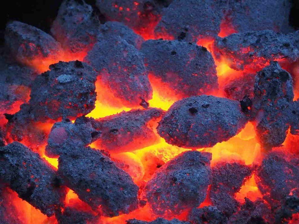 El carbón es el combstible principal para hacer una barbacoa