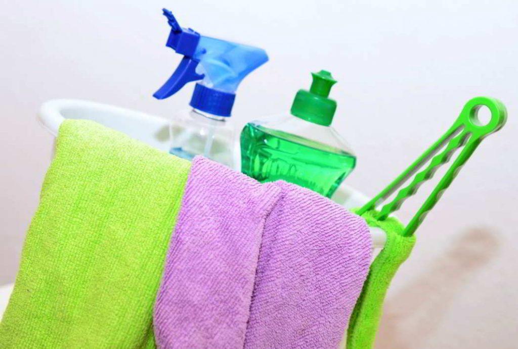 Limpiar una lavadora con vinagre