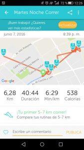 Gadget para correr