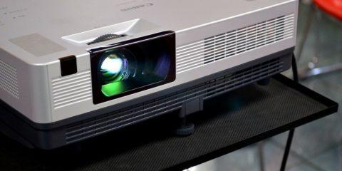 Elige entre tv o proyector