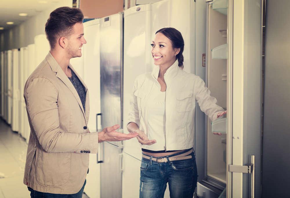 colocar el frigorifico
