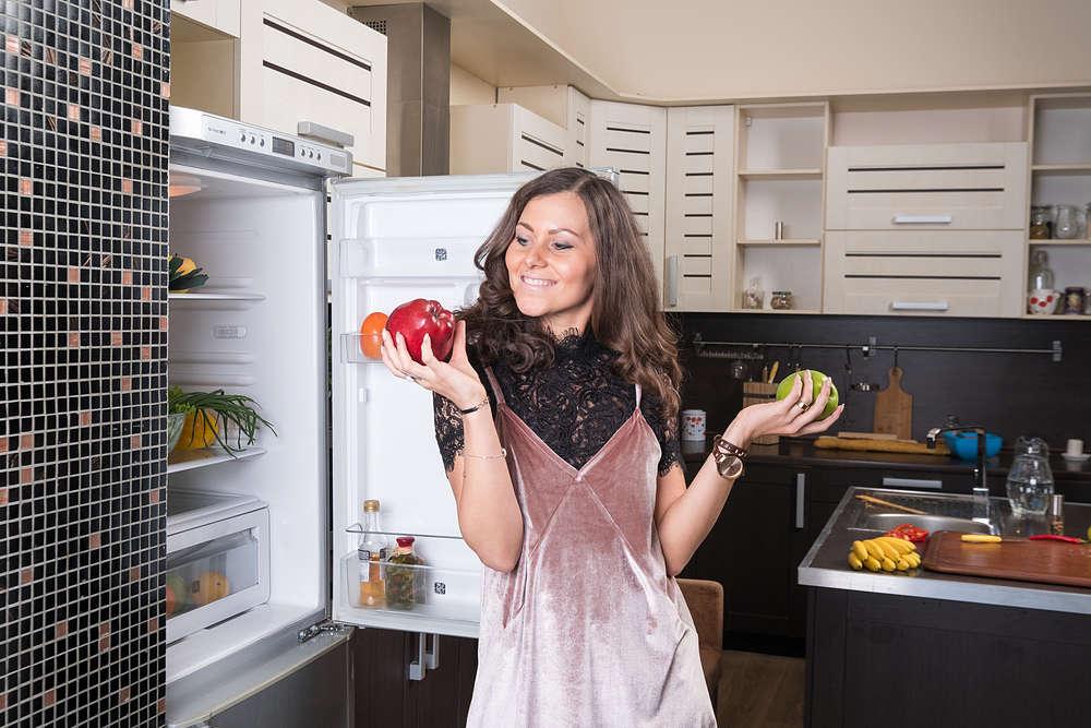 colocar el frigorifco