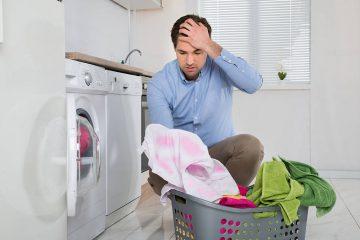 Lavadora mancha la ropa