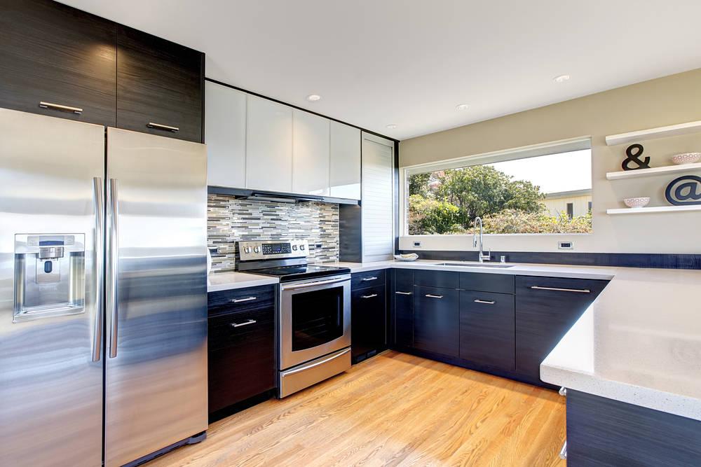 Trucos para limpiar tu frigorífico de acero inoxidable