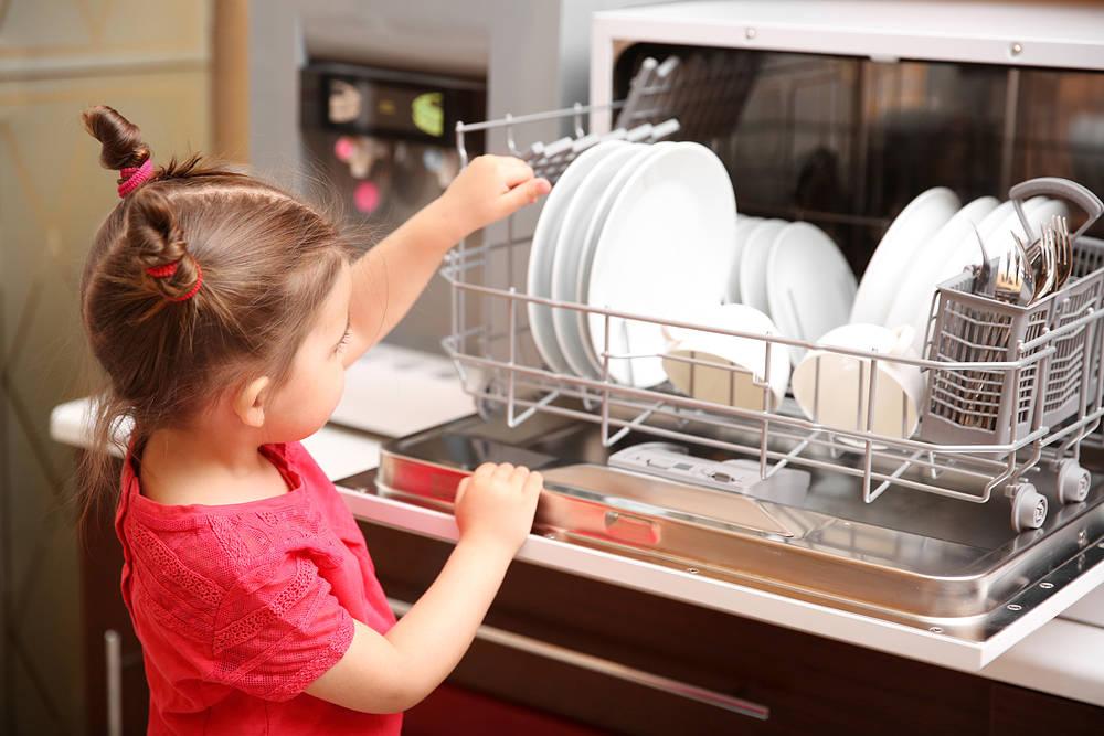 Tienes una cocina peque a un lavavajillas compacto es for Medidas de lavavajillas
