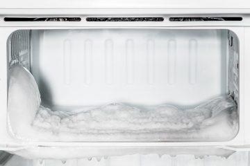 mi congelador hace hielo