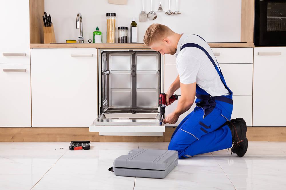 ubicar el lavavajillas en la cocina