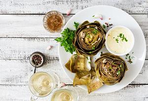 recetas al horno - alcachofa - la casa tecno