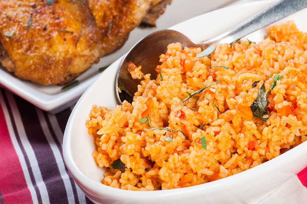 recetas al horno - pollo y arroz - La Casa Tecno