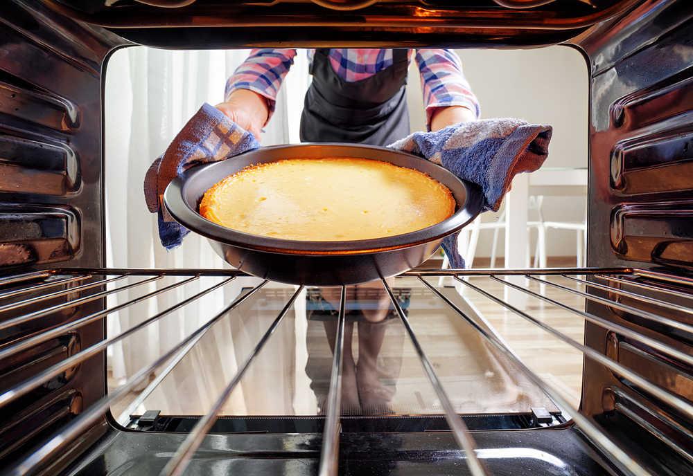 recetas al horno - tarta de queso - La Casa Tecno