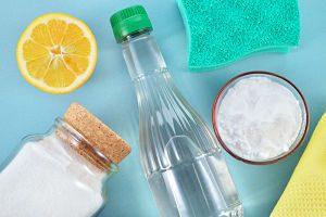 trucos para lavar la ropa - limon y vinagre - La Casa Tecno