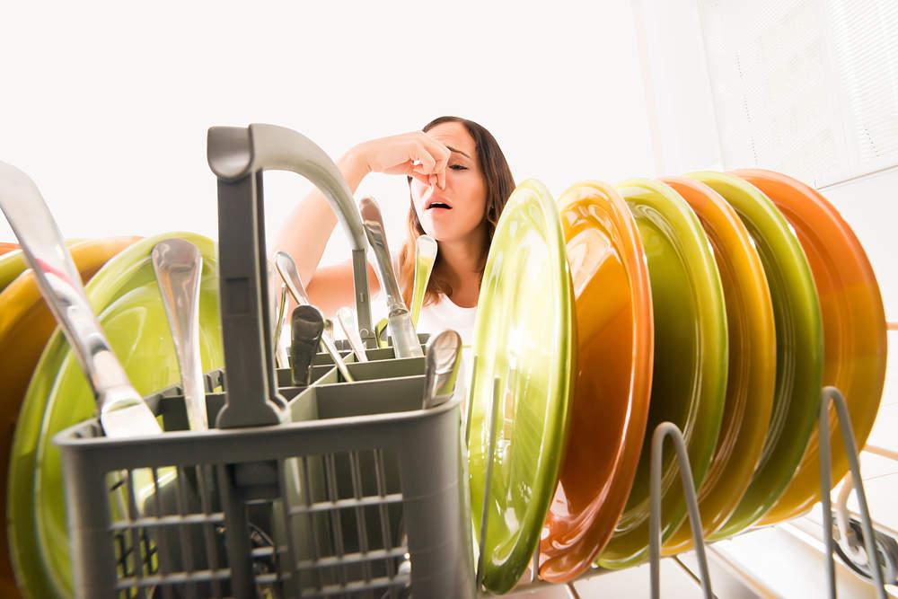 lavavajillas huele mal