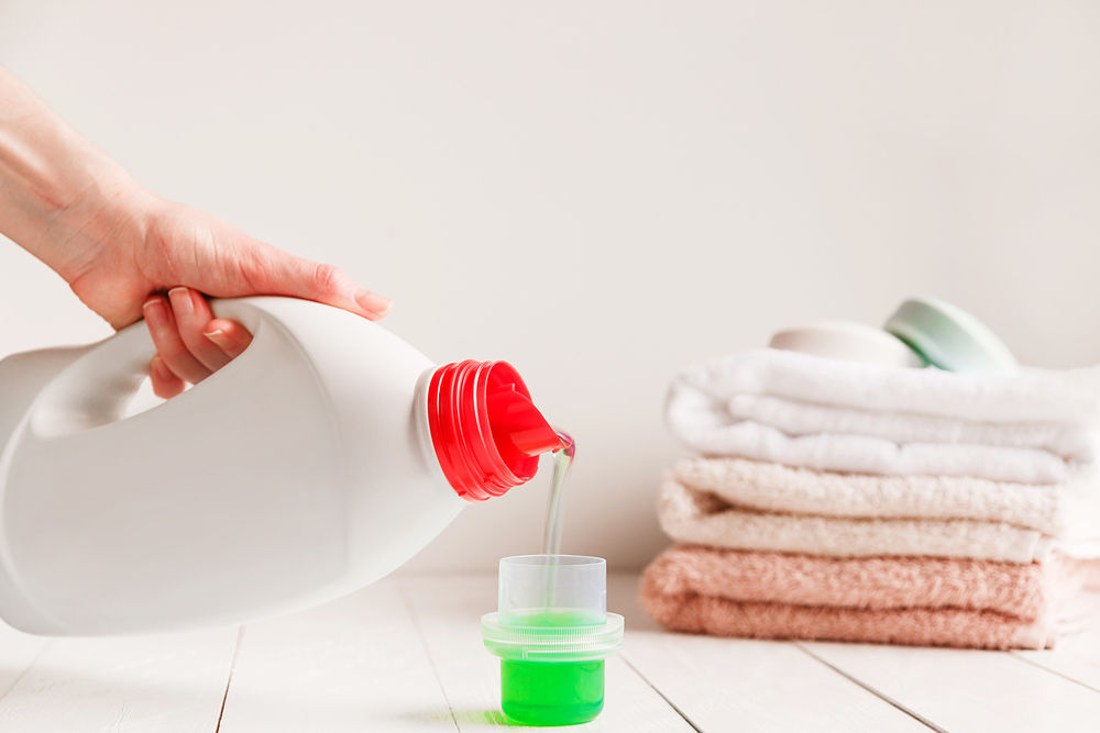 jabón para lavadora