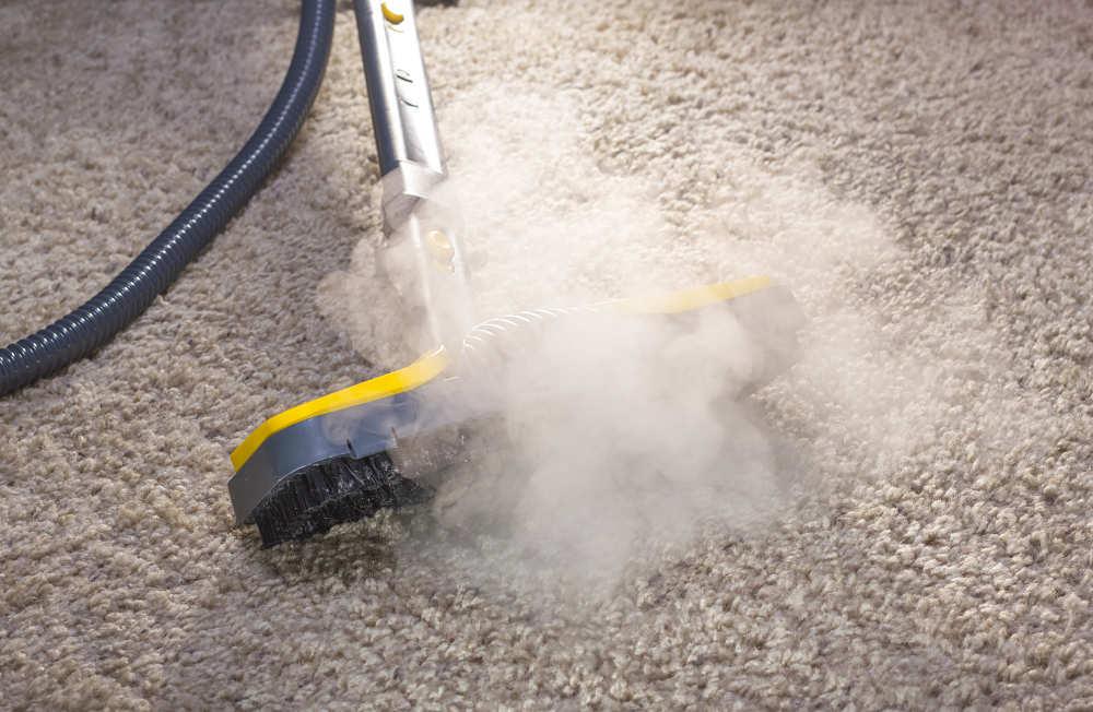 Hacer limpieza con vapor