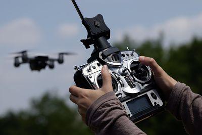 dron con videocámara