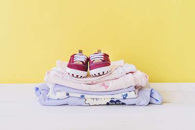 Ropa bebé limpia